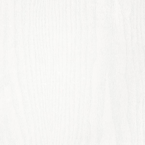 Vinyle décoratif bois blanc brillant.