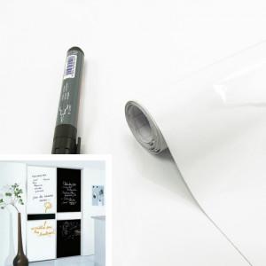 Rouleau adhésif tableau Blanc + 1 feutre