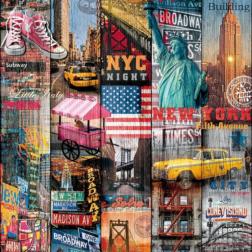 Rouleau adhésif Manhattan