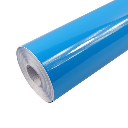 Rouleau adhésif Brillant Bleu Ciel