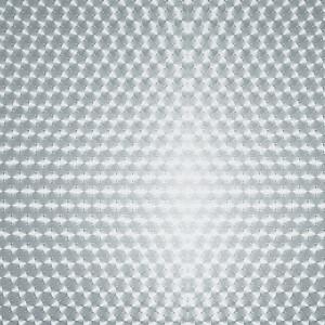 Adhésif vitrostatique avec des cercles