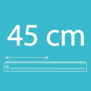 Largeur 45cm